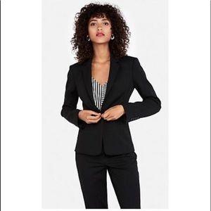 Elie Tahari charcoal suit